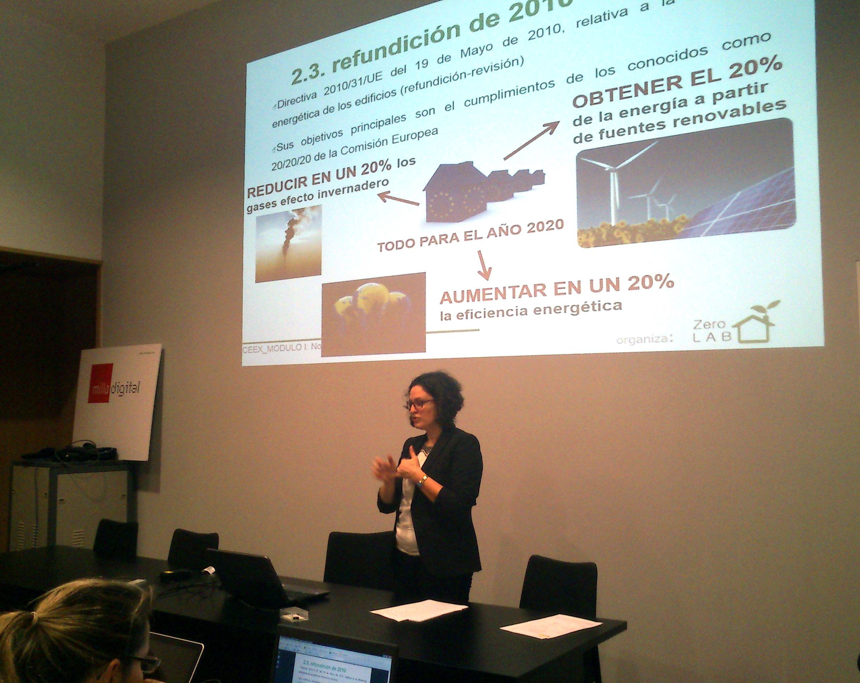 Curso certificacion energética zerolab