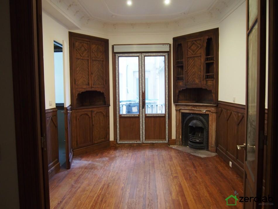 zerolab piso bilbao habitacion