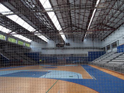 interior polideportivo zerolab